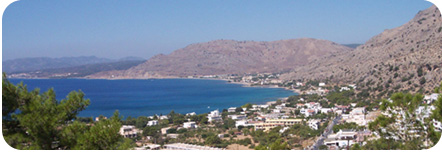 Picture of Pefkos Bay, Rhodes