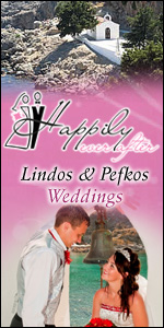 Weddings Lindos & Pefkos